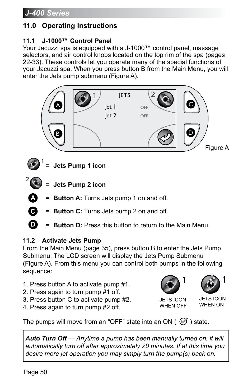 0 operating instructions 1 j 1000 control panel 2 activate jets rh manualsdir com Big Mixer Icon Studio Console Icon