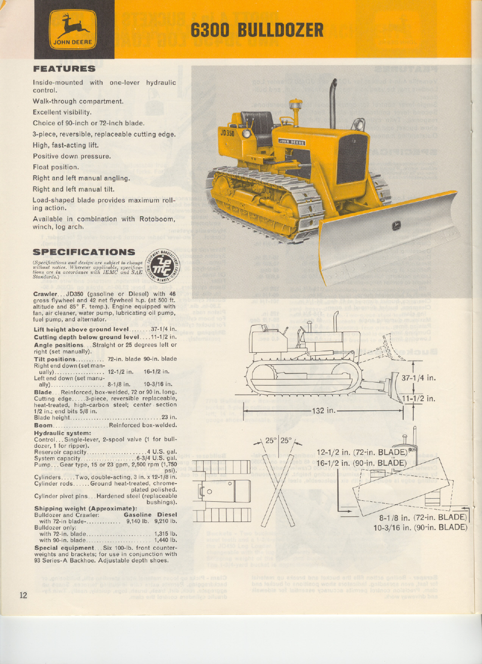 john deere 6300 user manual 2 pages rh manualsdir com manual trator john  deere 6300 John Deere 6300 Service Manual