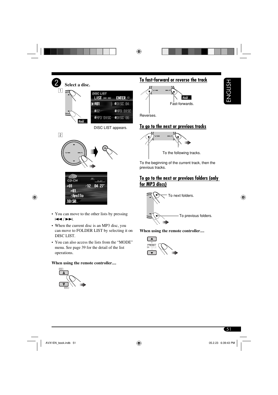english jvc kd avx1 user manual page 51 78 original mode rh manualsdir com