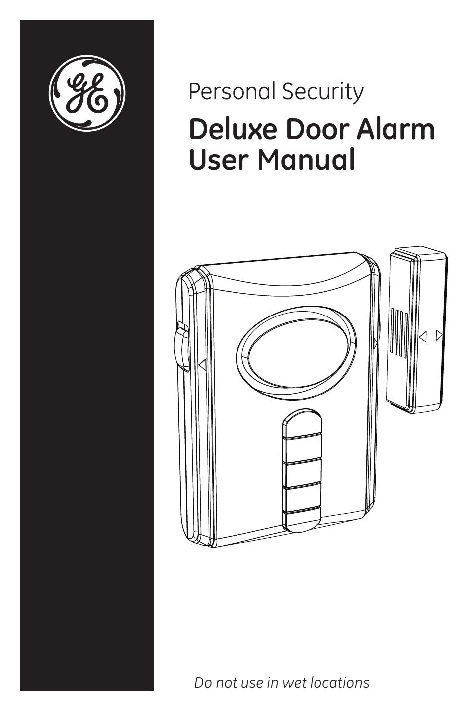 GE 45117 Deluxe Wireless Keypad Door Alarm