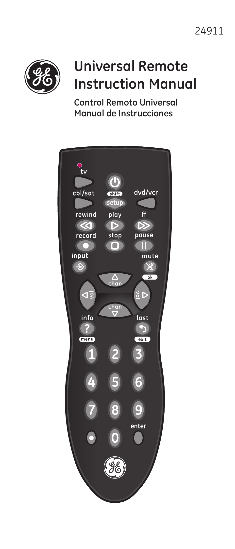 ge 24911 v2 ge universal remote user manual 44 pages rh manualsdir com