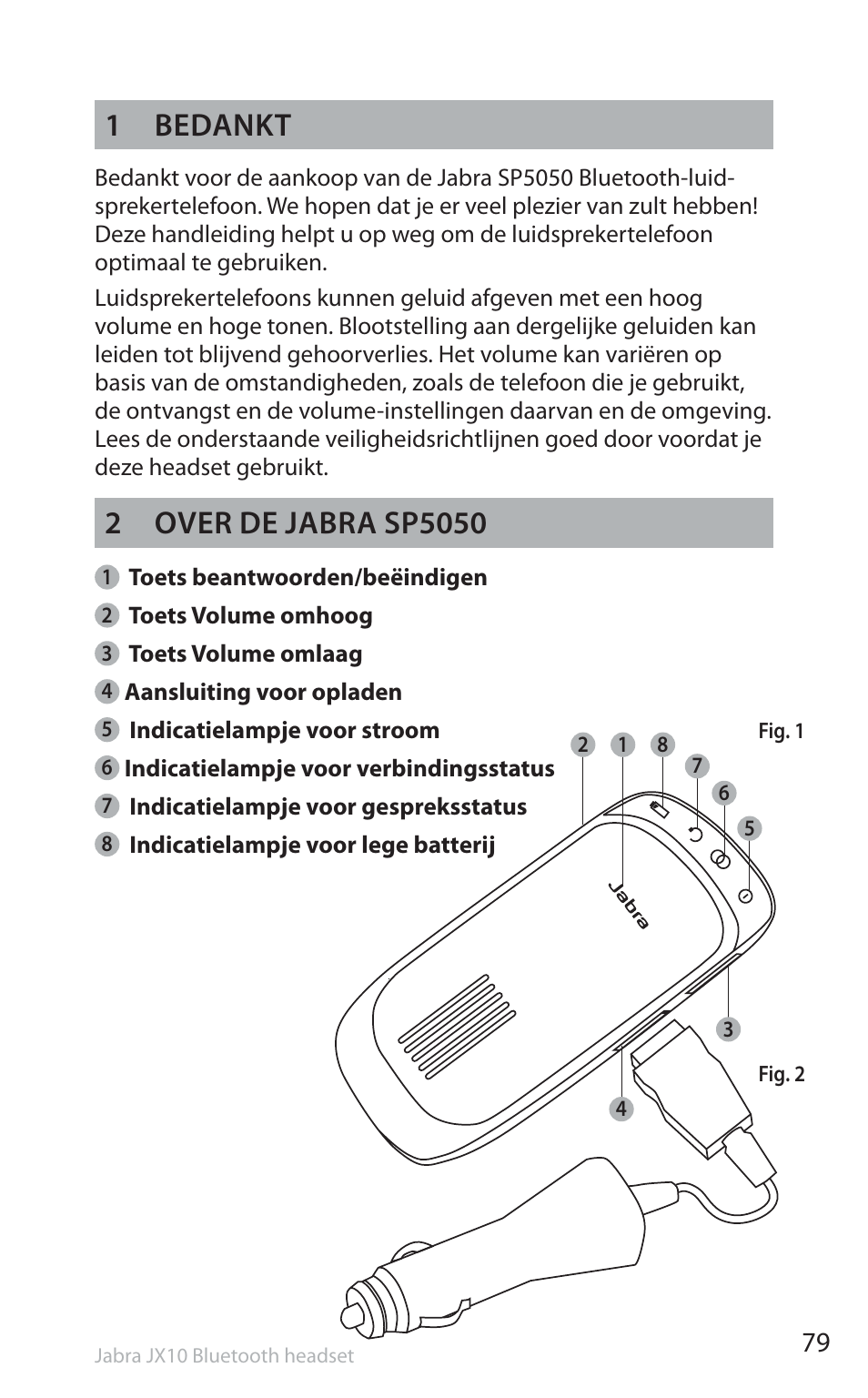 1 bedankt jabra sp5050 user manual page 81 221 original mode rh manualsdir com Jabra Bluetooth Pairing Guide Jabra SP5050 Charger