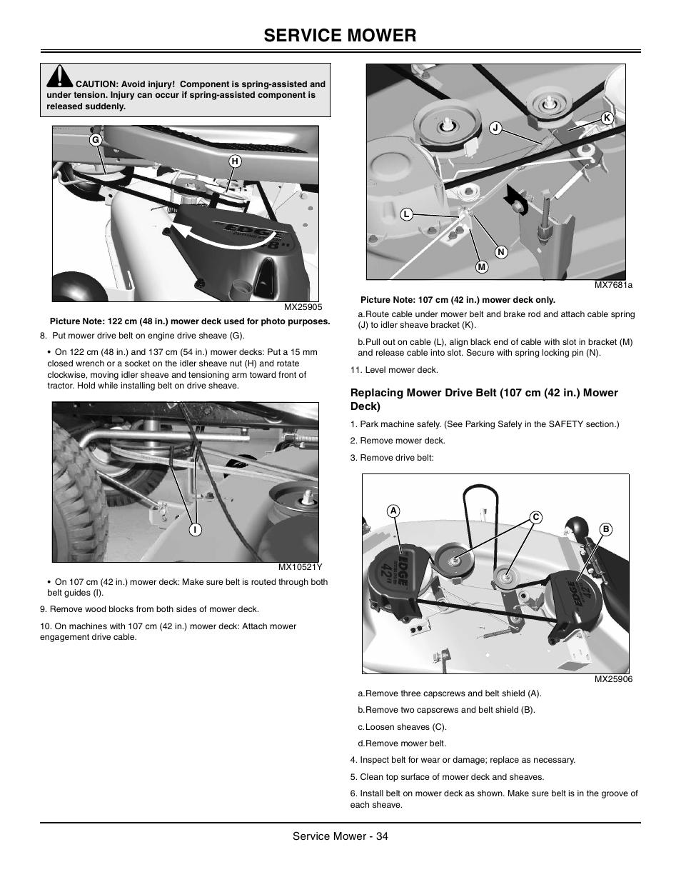 John Deere Tractor 100 Series Omg X23532 J0 User Manual Manual Guide