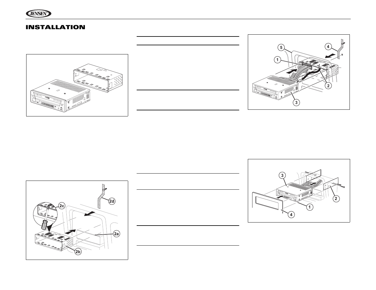 jensen uv9 page8 jensen uv9 wiring diagram audio control wiring diagram \u2022 wiring  at bakdesigns.co