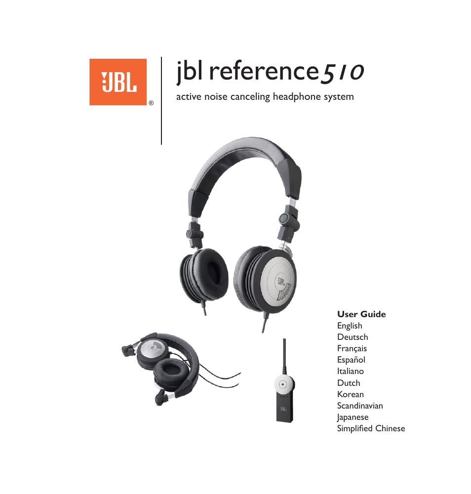 2bf020de027 JBL 510 User Manual   67 pages