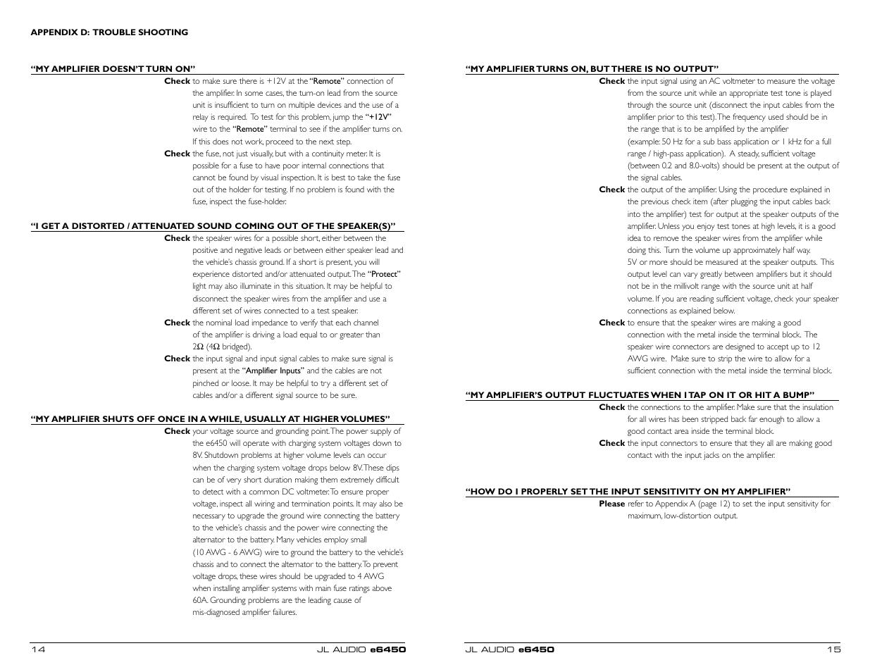 jl audio e6450 user manual page 8 11 original mode rh manualsdir com