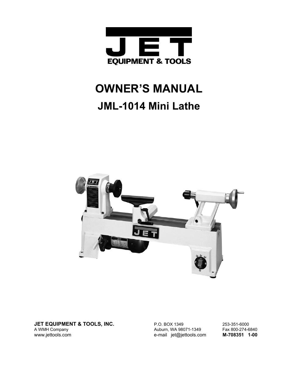 jet tools jml 1014 user manual 12 pages rh manualsdir com New Tools Tools Icon
