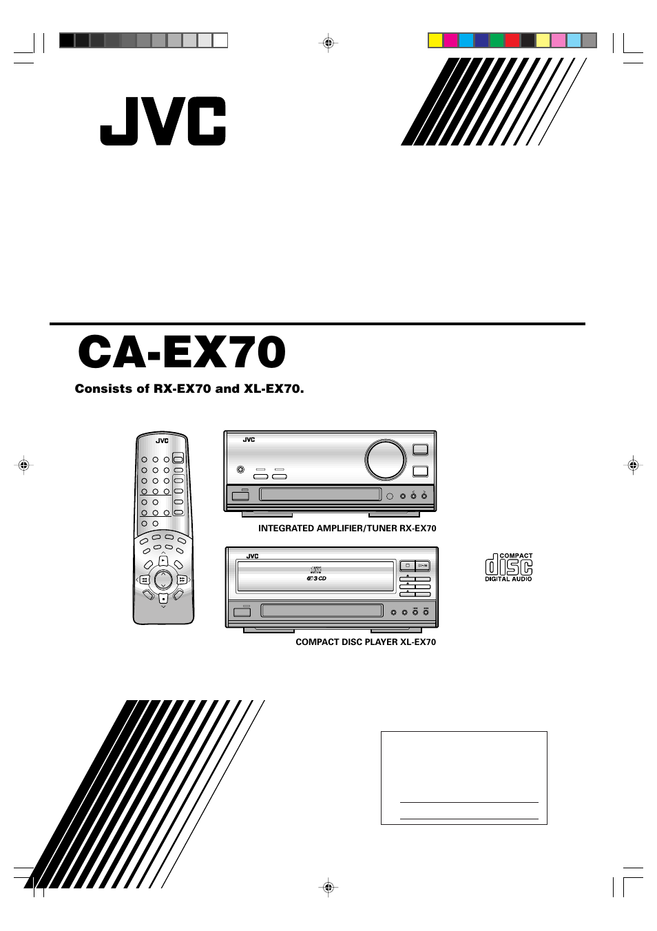 JVC CA-EX70 User Manual | 51 pages