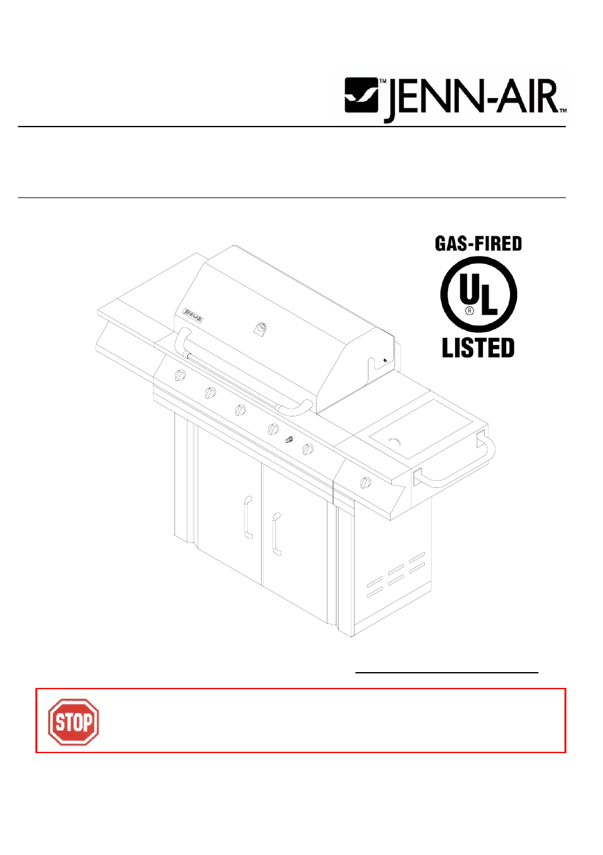 Jenn air stainless steel gas grill - Jenn Air Stainless Steel Gas Grill 13