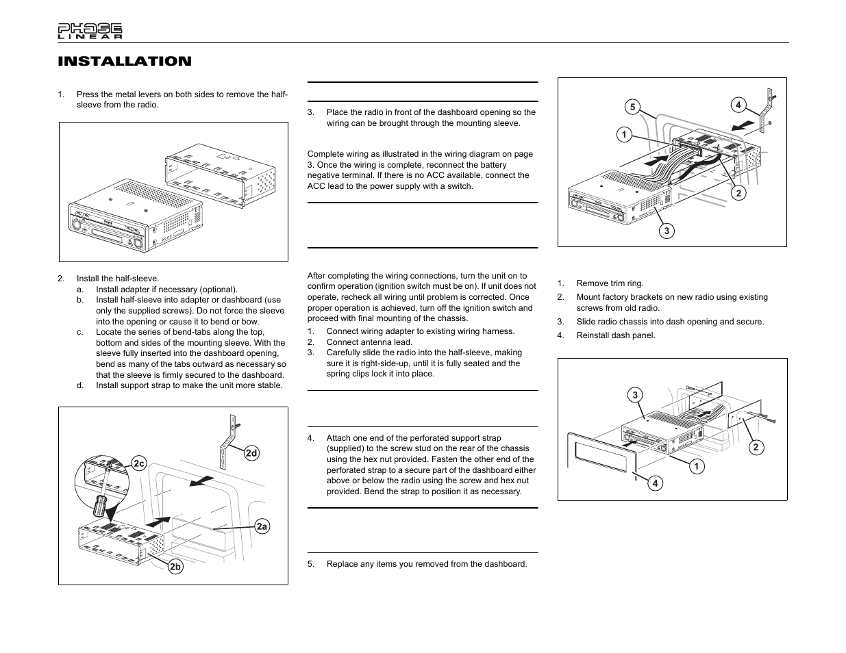 UV8 Wiring Diagram Jensen Phase Linear DVD Player Source. Uv8 installation  ...