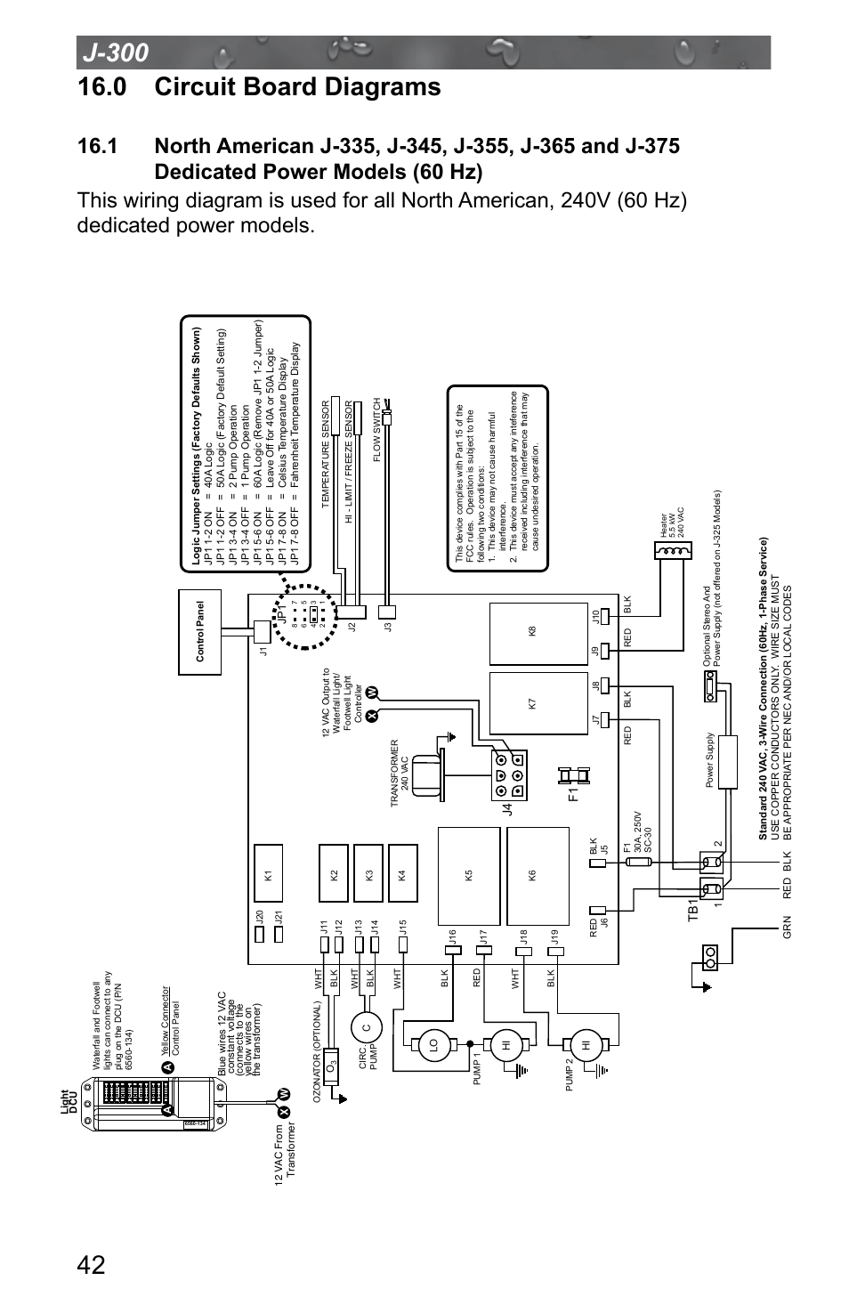 jacuzzi j 315 page46 0 circuit board diagrams, dedicated power models (60 hz) jacuzzi jacuzzi j 345 wiring diagram at alyssarenee.co