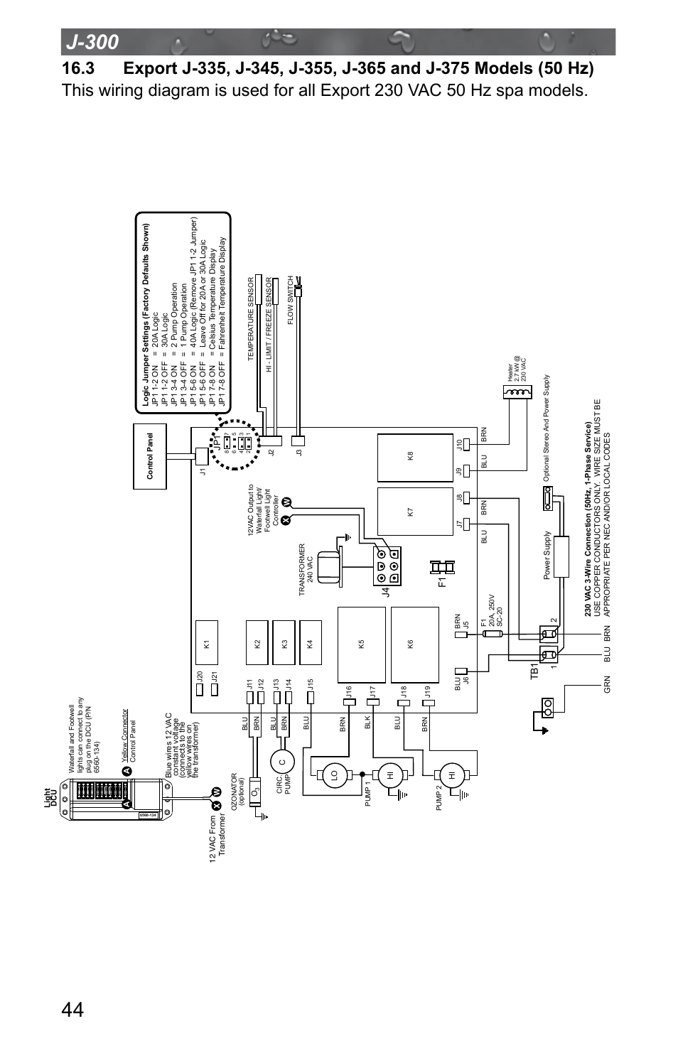 Jacuzzi J  315 User Manual   Page 48  64   Also for  J