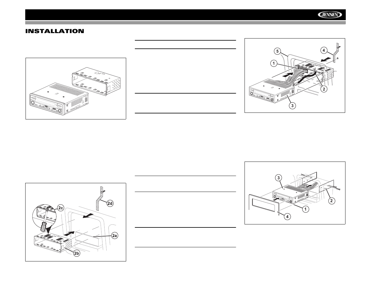 Jensen Vm9512 Wiring Diagram Detailed Schematics Power Acoustik Pd 710 Wire User Manual Page 9 44 Original Mode Tiger Truck