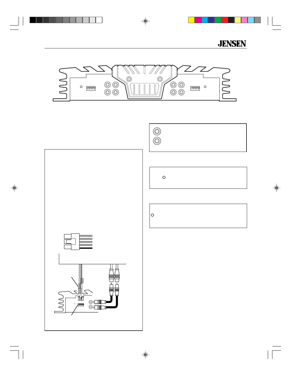 Peachy Inputs And Controls Input Wiring Power Light Jensen Xa4150 User Wiring 101 Capemaxxcnl