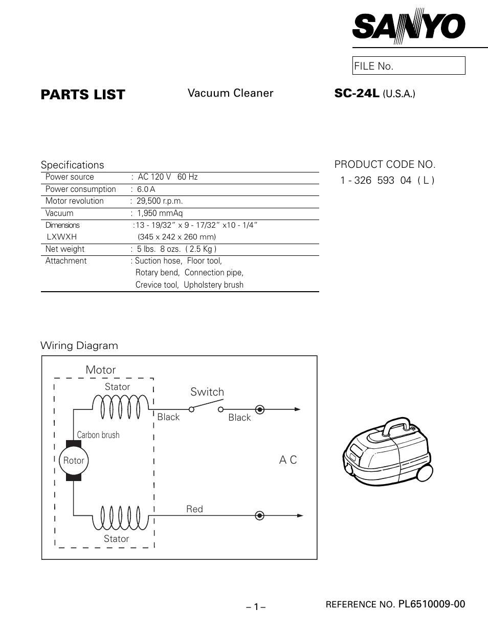 sanyo sc 24l user manual 4 pages rh manualsdir com
