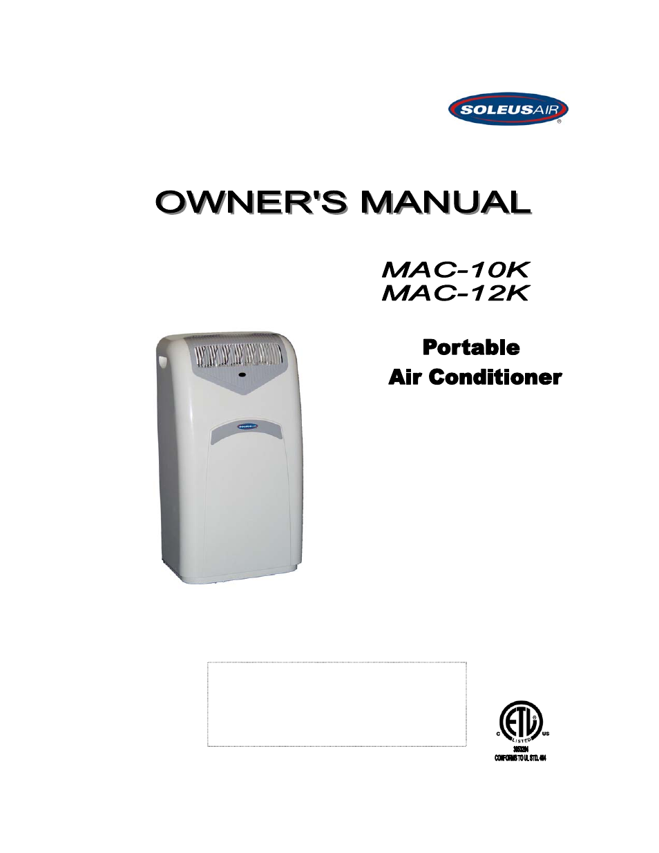 soleus air mac 12k user manual 15 pages rh manualsdir com mac air instruction manual mac air user manual