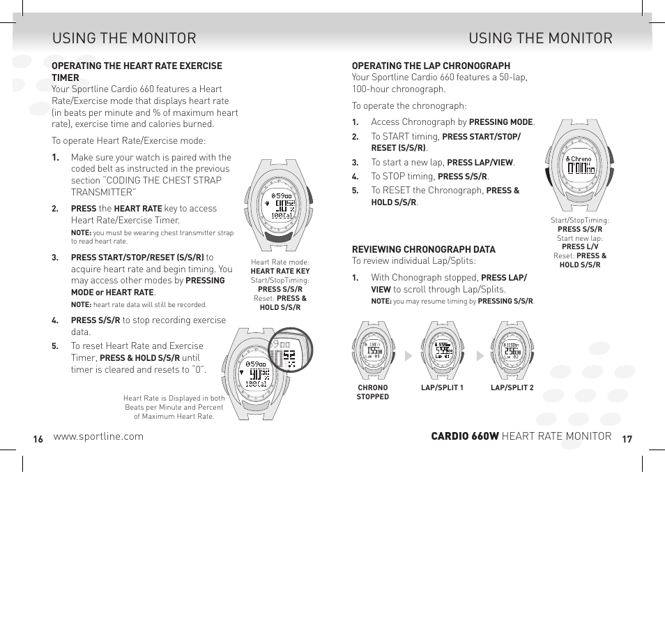 Sportline sp1449s015spo heart rate monitor user manual | manualzz. Com.