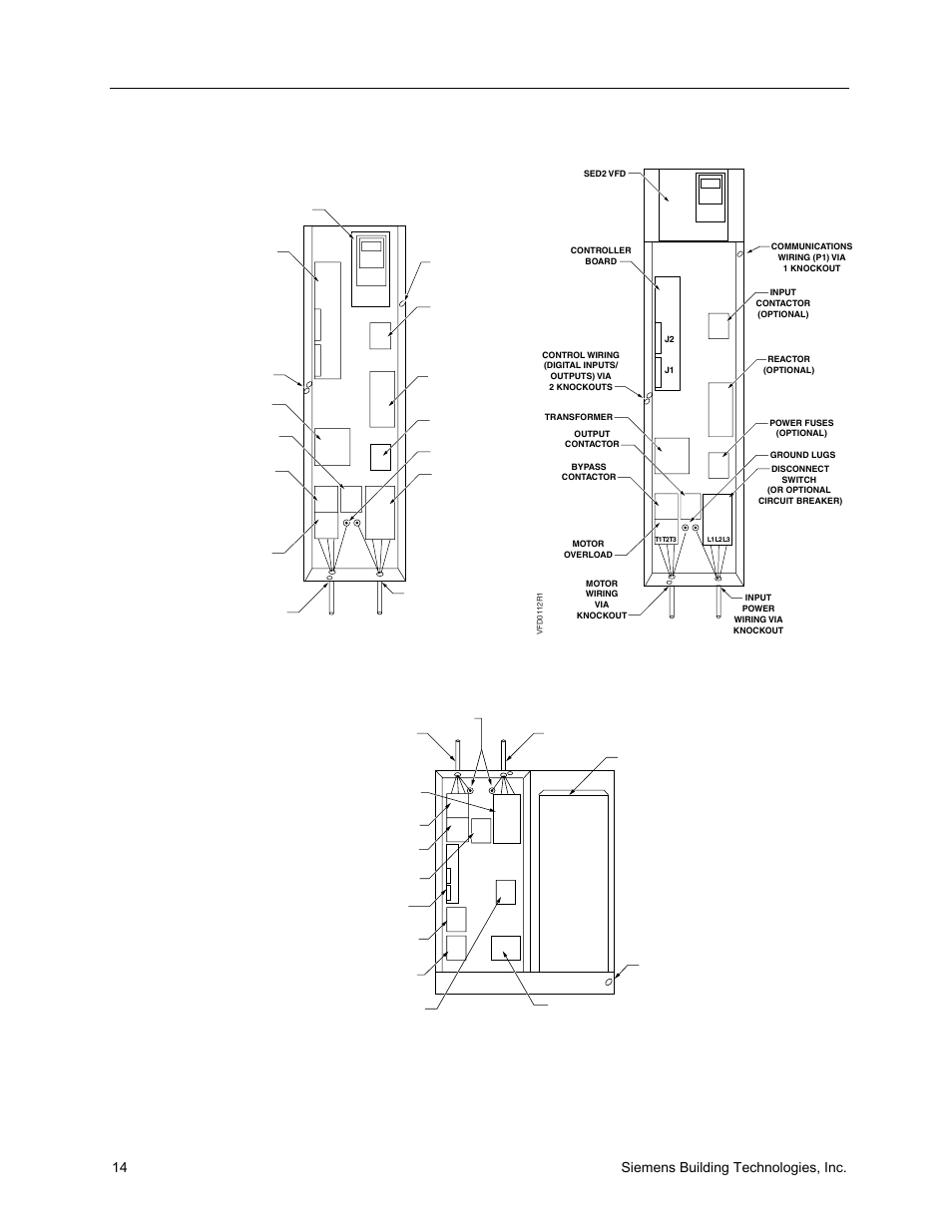 14 sie building technologies, inc | Sie SED2 VFD ... Vfd Wiring Outputs Diagram on