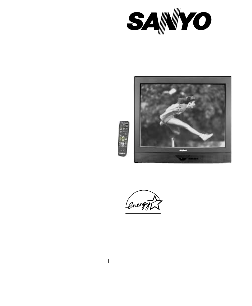 Sanyo DS35510 User Manual | 68 pages