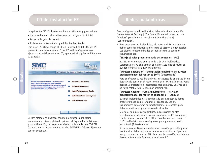 cd de instalaci n ez redes inal mbricas smc networks smcwbr14t g rh manualsdir com smc networks manual español smc networks smcwbr14s-n4 manual