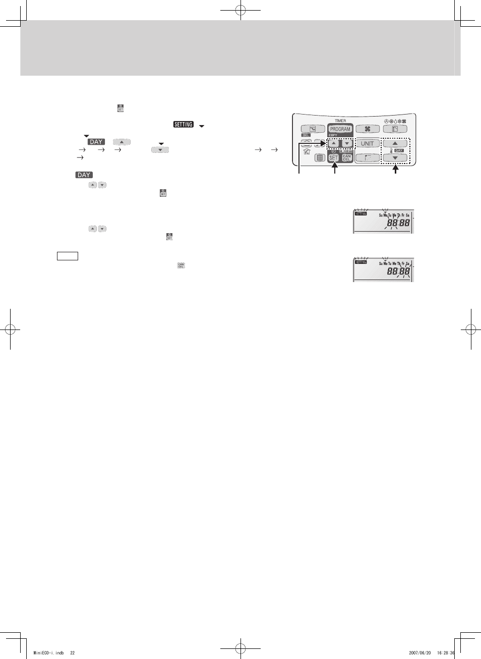 timer remote controller rcs tm80bg sanyo chx06052 user manual rh manualsdir com sanyo rcs-tm80bg user guide Owner's Manual