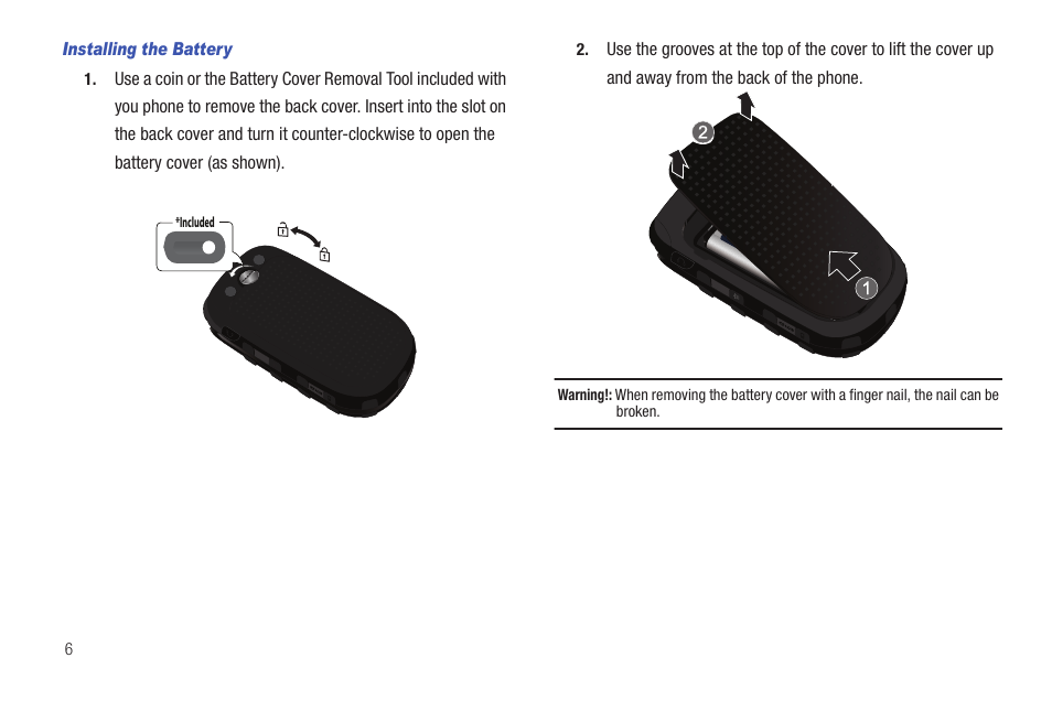 samsung convoy sch u640 user manual page 11 186 also for sch rh manualsdir com samsung convoy sch-u640 manual and user guide Samsung Convoy SCH-U640 Charger