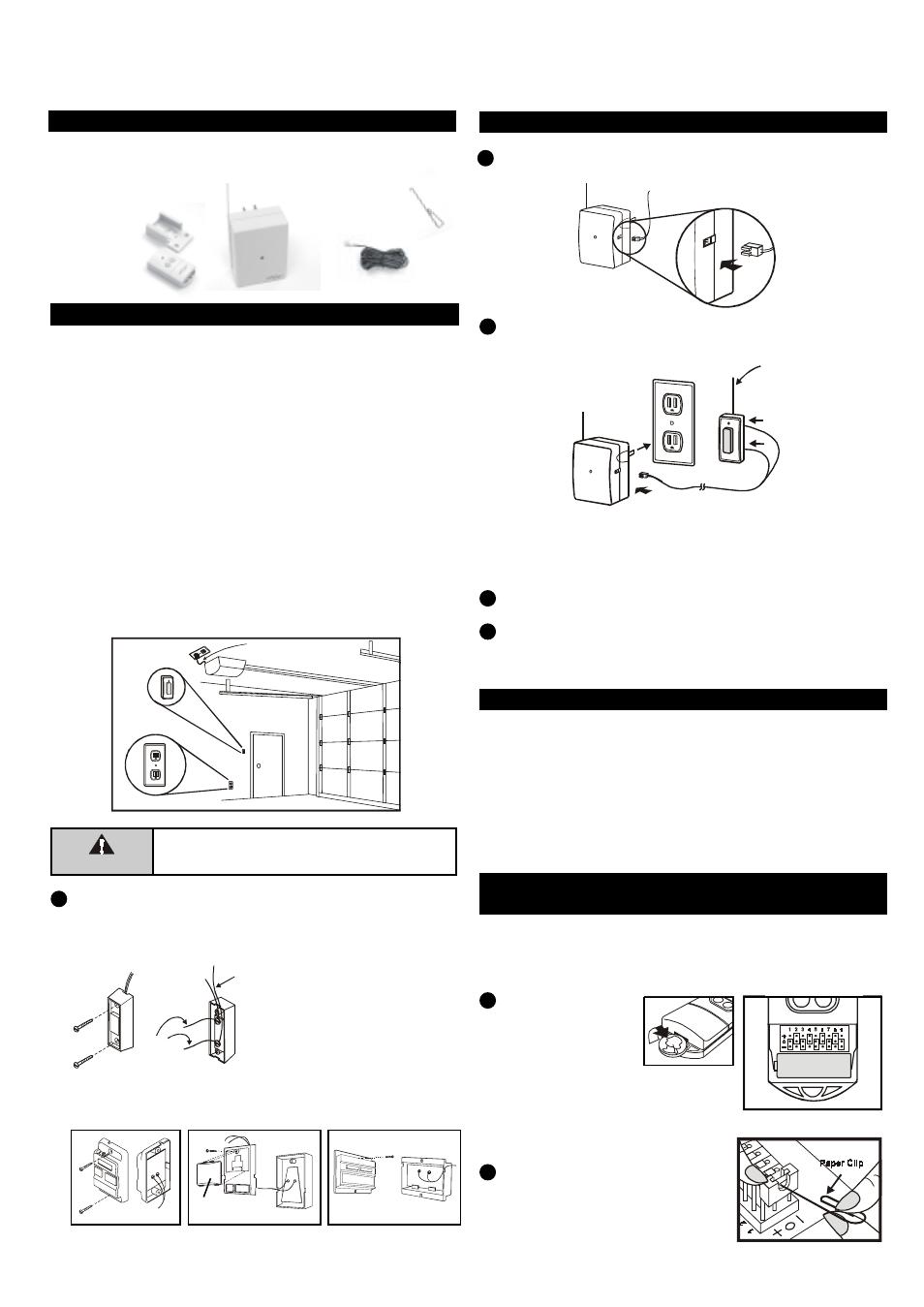 Skylink Houselink 318tr User Manual 2 Pages