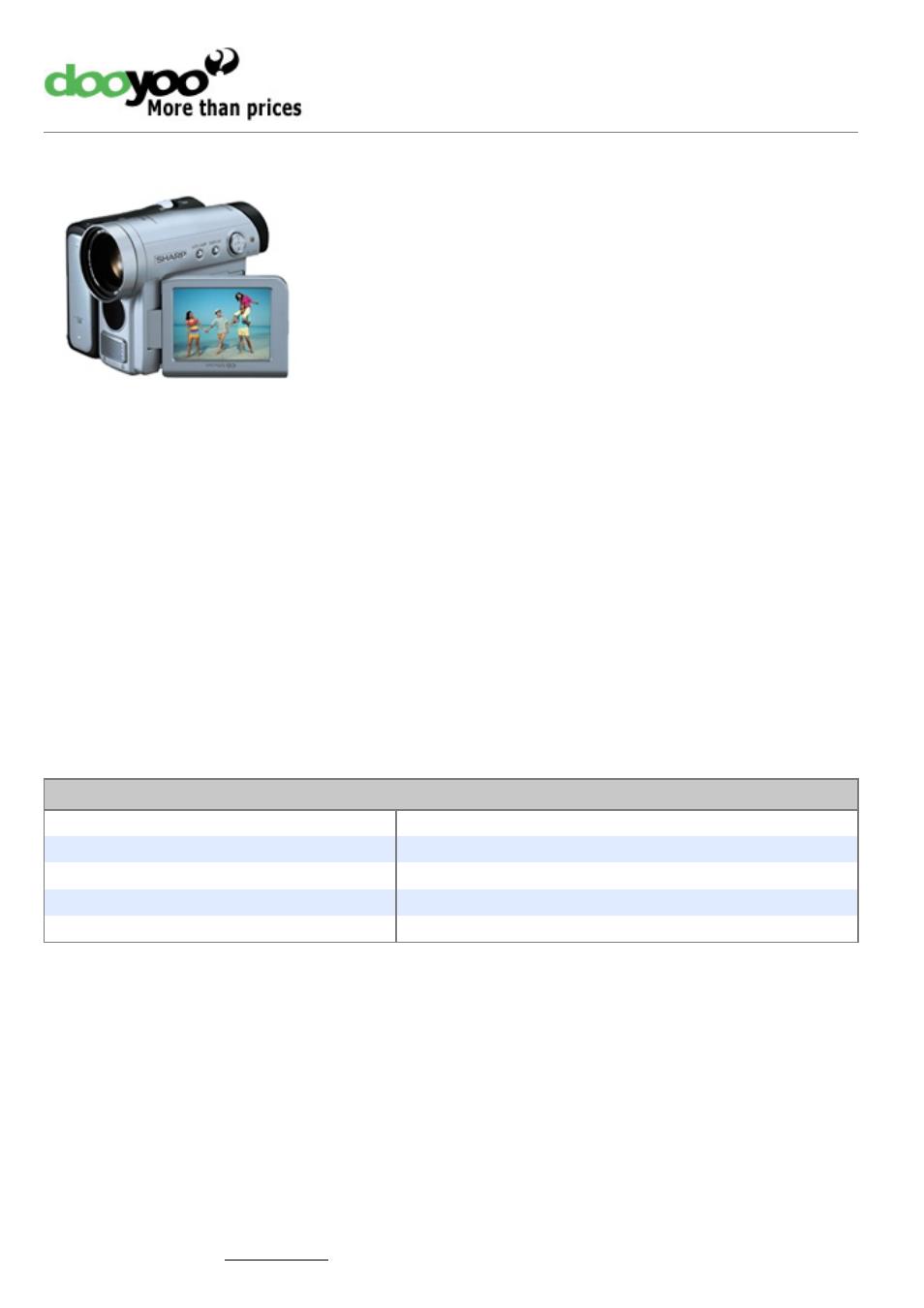 sharp viewcam vl z5s user manual 4 pages rh manualsdir com Sharp Viewcam Battery Charger sharp viewcam z vl-z100 manual