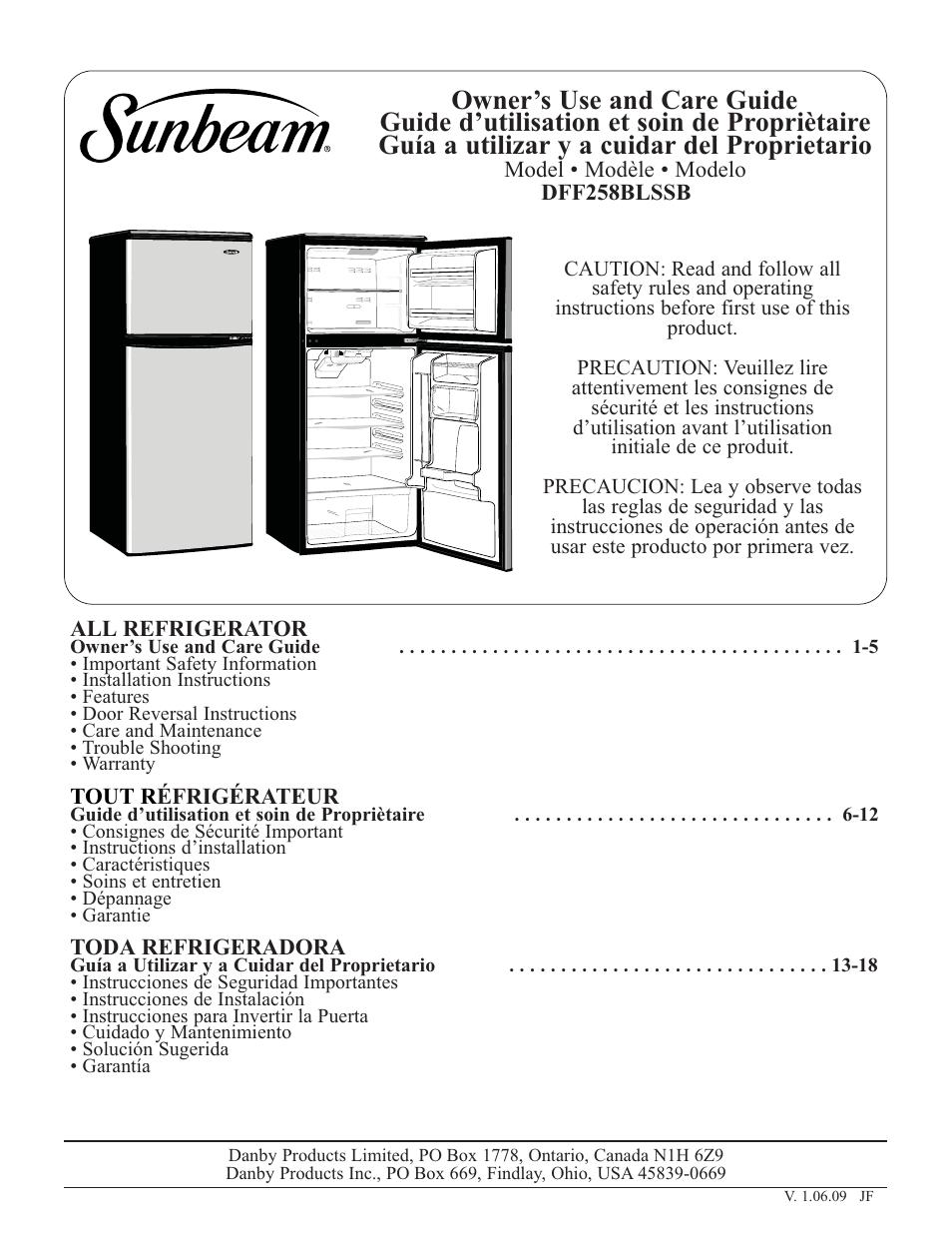 sunbeam user manuals daily instruction manual guides u2022 rh testingwordpress co Design Standards Manual Logo Standards Manual