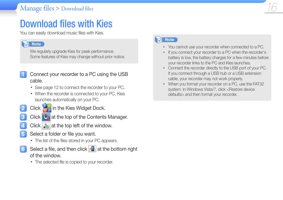 Samsung Kies 32160842 Download - TechSpot