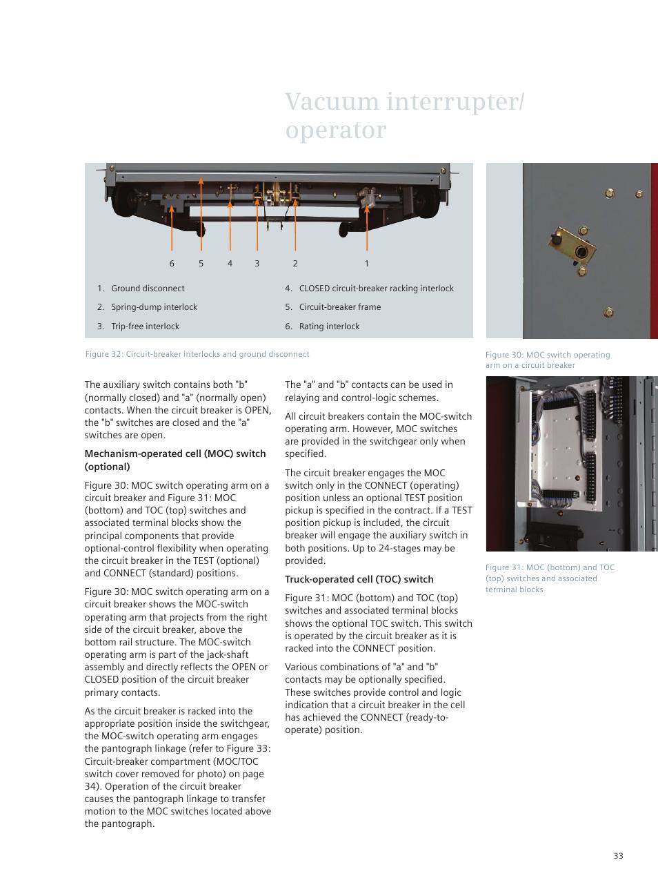 Vacuum Interrupter Operator Siemens Circuit Breaker 38 Photointerruptercircuitpng 3ah3 Kv User Manual