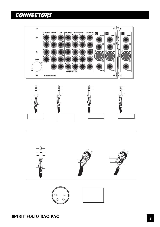 Soundcraft Spirit Folio User Manual Schematic Diagram Ups Prolink Background Image Array Connectors Rac Pac Rh Manualsdir Com
