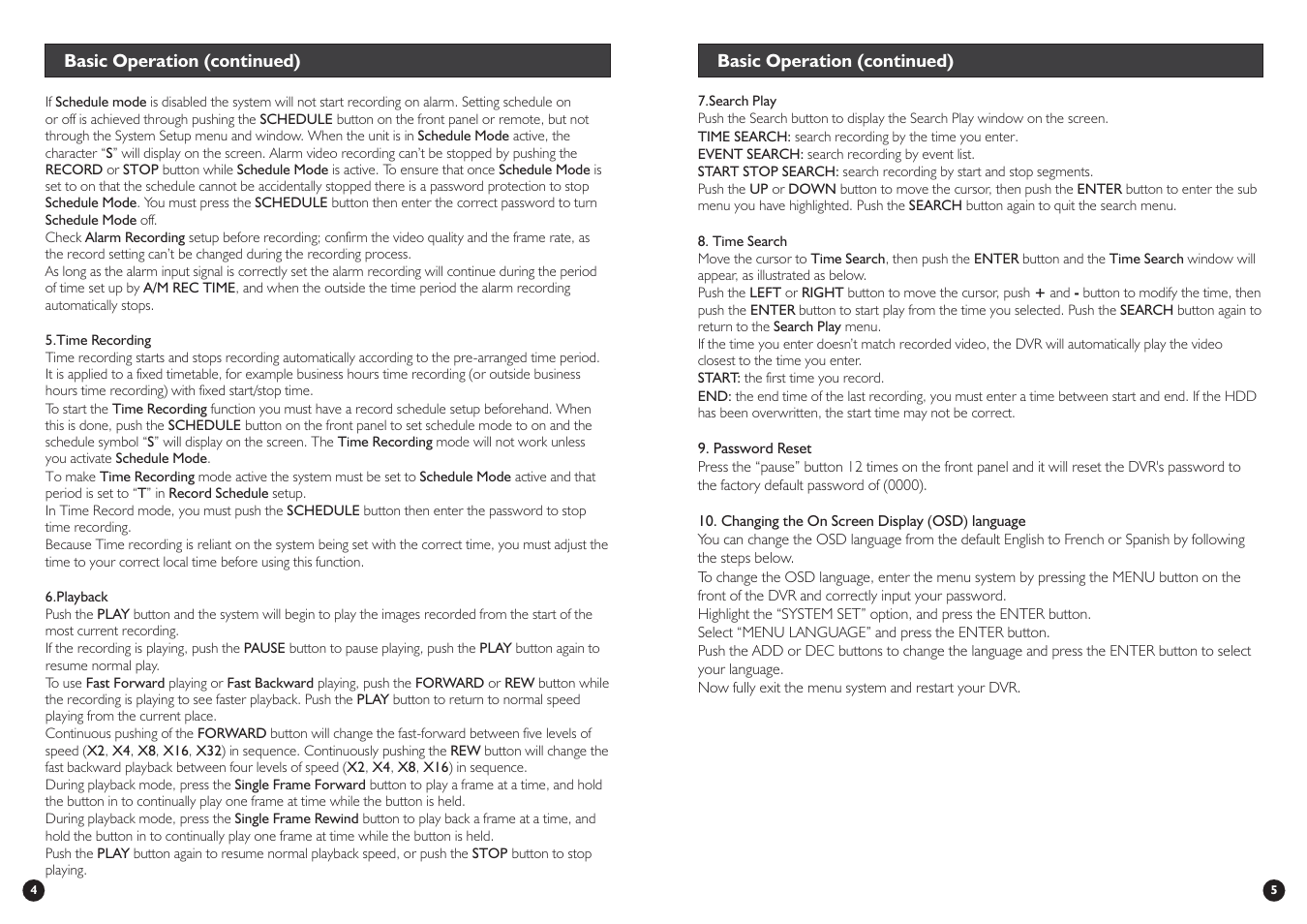 Swann DVR4-Net-PLUS User Manual | Page 4 / 4
