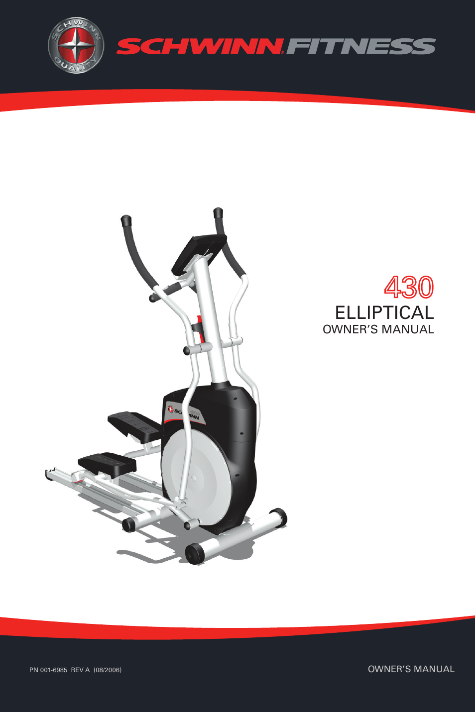 schwinn 430 user manual 36 pages rh manualsdir com schwinn 430 elliptical reviews schwinn 430 elliptical trainer review