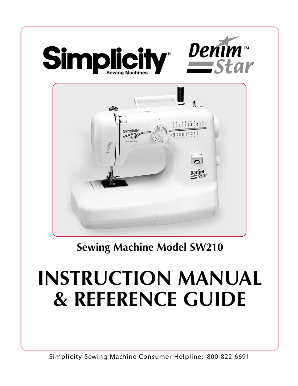 simplicity sw210 user manual 35 pages rh manualsdir com User Manual Template iPad Manual