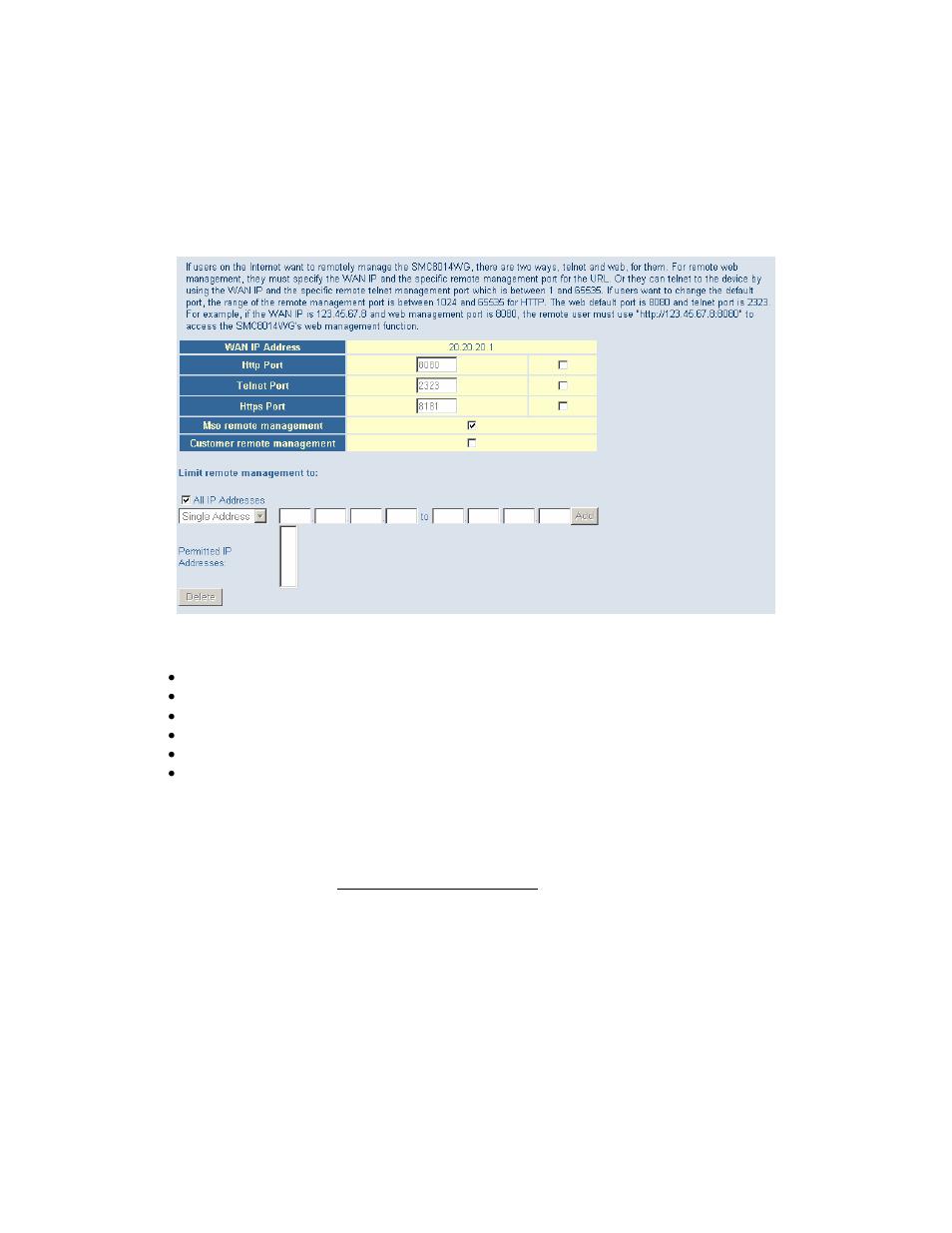 smc networks smc8014w g user manual page 17 60 original mode rh manualsdir com SMC8014W -G SMC SMC8014W-G Router Password