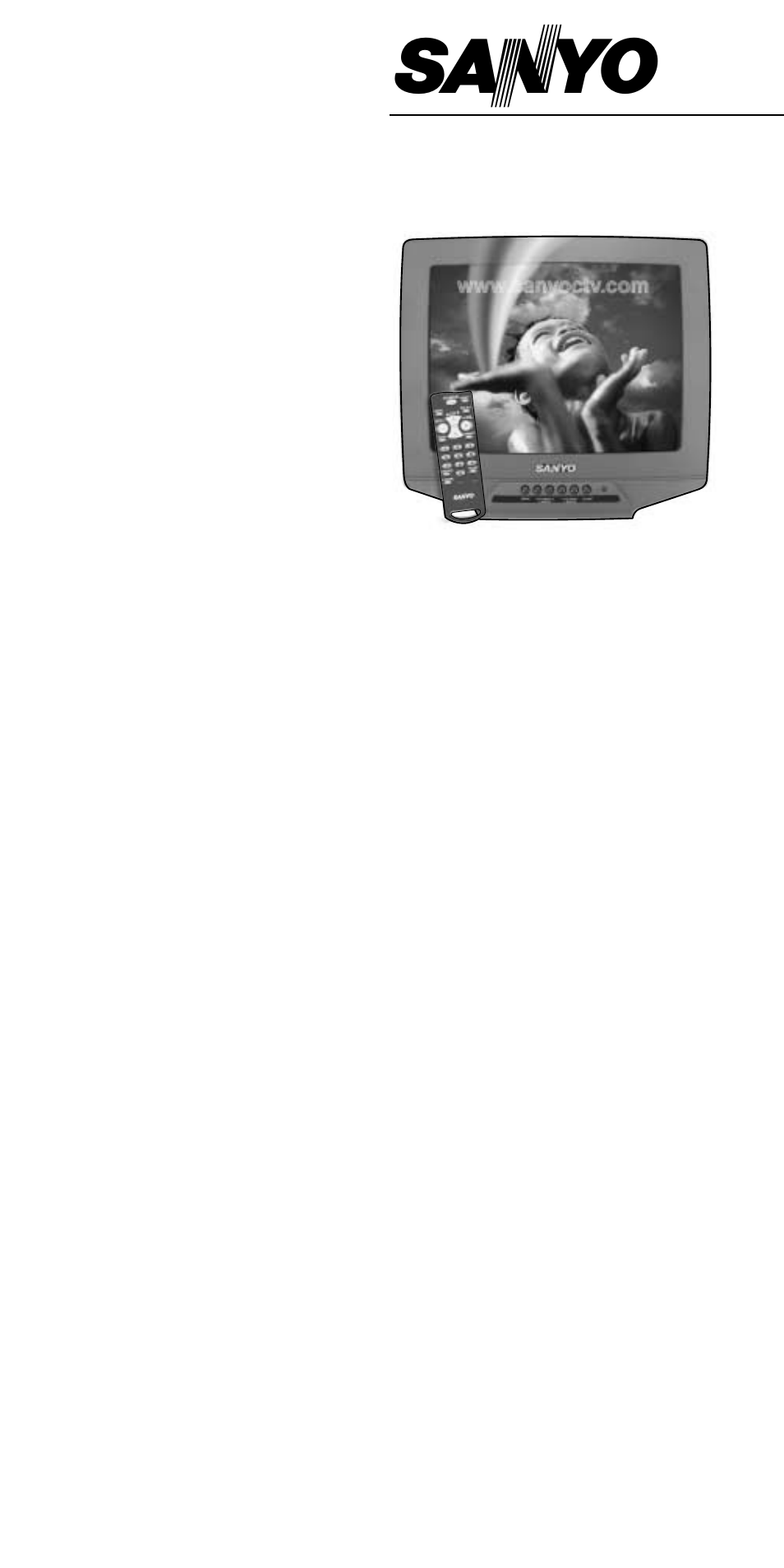 sanyo ds13390 user manual 44 pages also for ds19390 ds25390 rh manualsdir com Behringer Mixer Manuals Sanyo User Manual