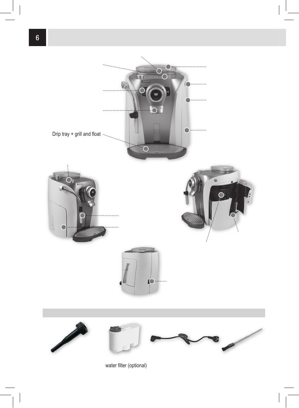 Appliance Accessories Philips Saeco Odea Giro User