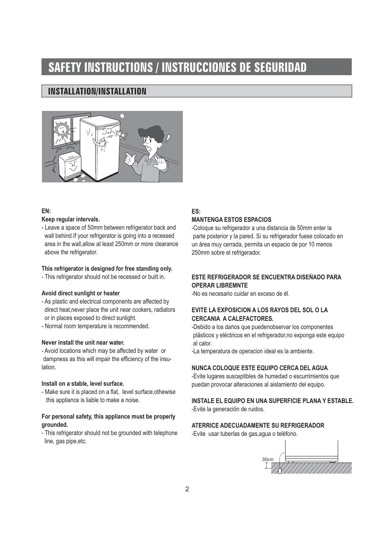 safety instructions instrucciones de seguridad installation rh manualsdir com Gutter Installation Guide Gutter Installation Guide