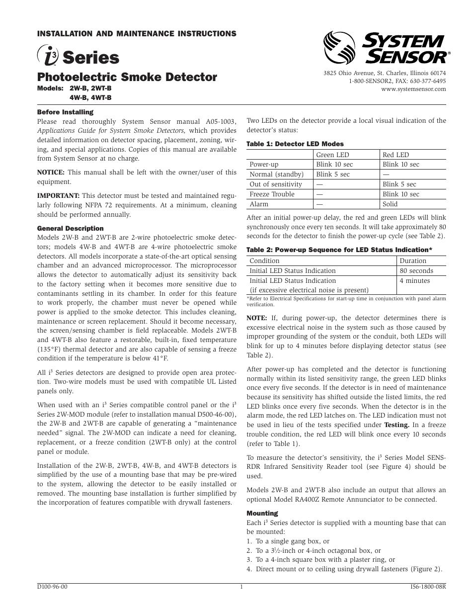 Thermocouple Sensor Manual Guide