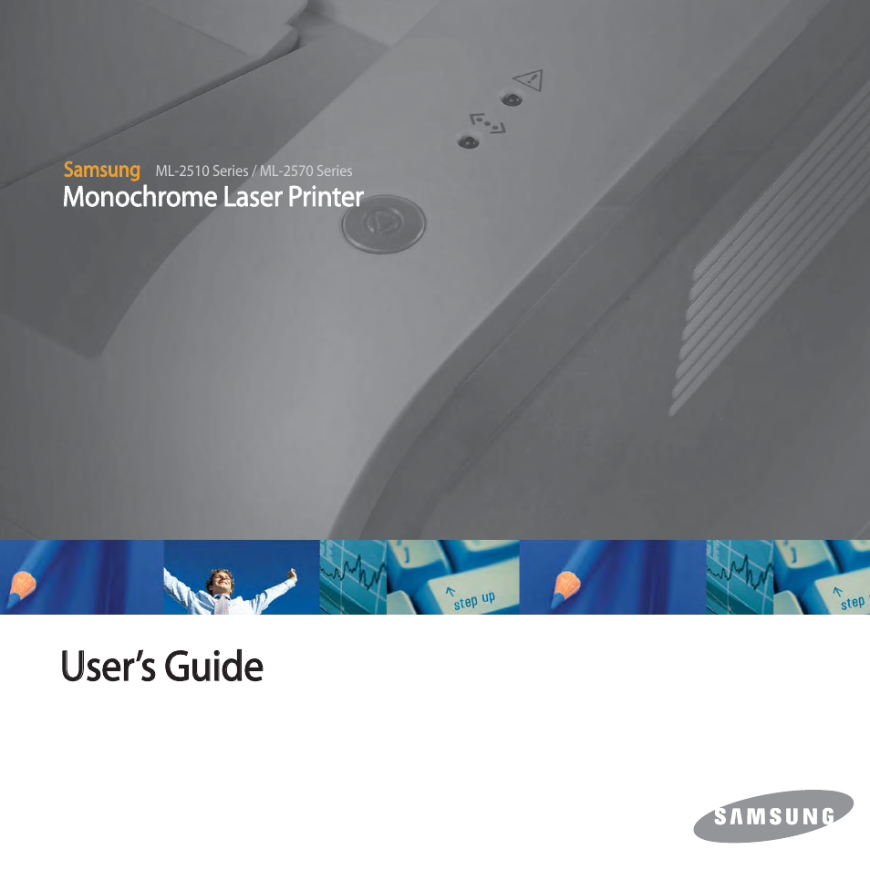 Samsung ml-2570 series user manual | 85 pages | also for: ml-2510.