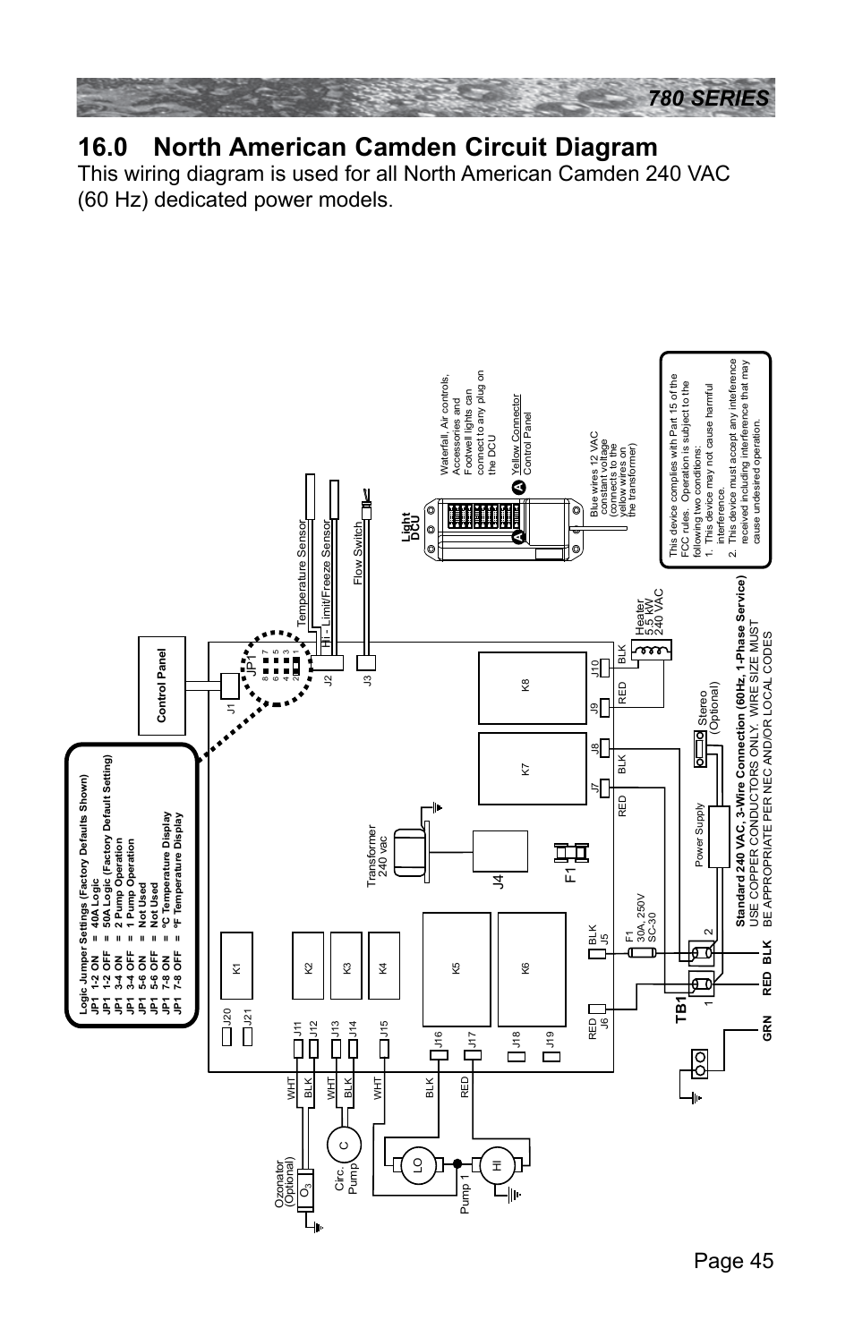 0 North American Camden Circuit Diagram