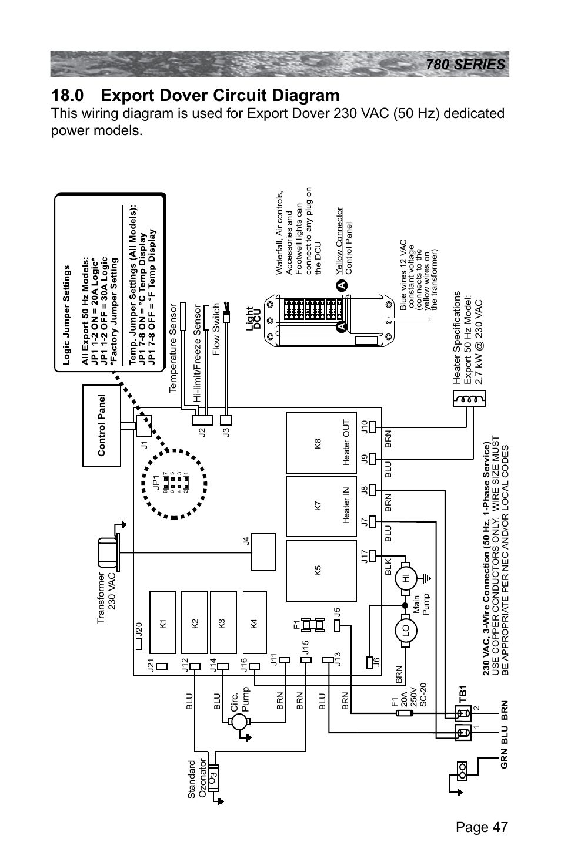 0 export dover circuit diagram | Sundance Spas CAMDEN 780 ... on jacuzzi aero spa electrical schematic, cal spa schematic, spa parts list, hot springs spa schematic, spa motor schematic, spa wiring code, spa pump schematic, sundance spa schematic, jacuzzi plumbing schematic, spa controller schematic, hot tub schematic, spa pump wiring, spa electrical wiring, spa plumbing schematic, spa builders ap 4 schematic, pool schematic, caldera spa schematic,