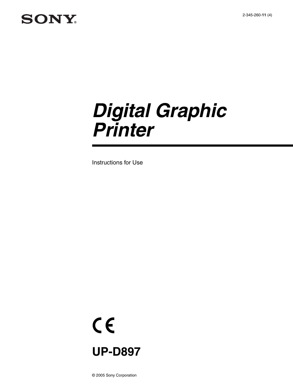 sony up d897 user manual 22 pages rh manualsdir com sony printer up-d897 service manual sony printer up-d897 service manual