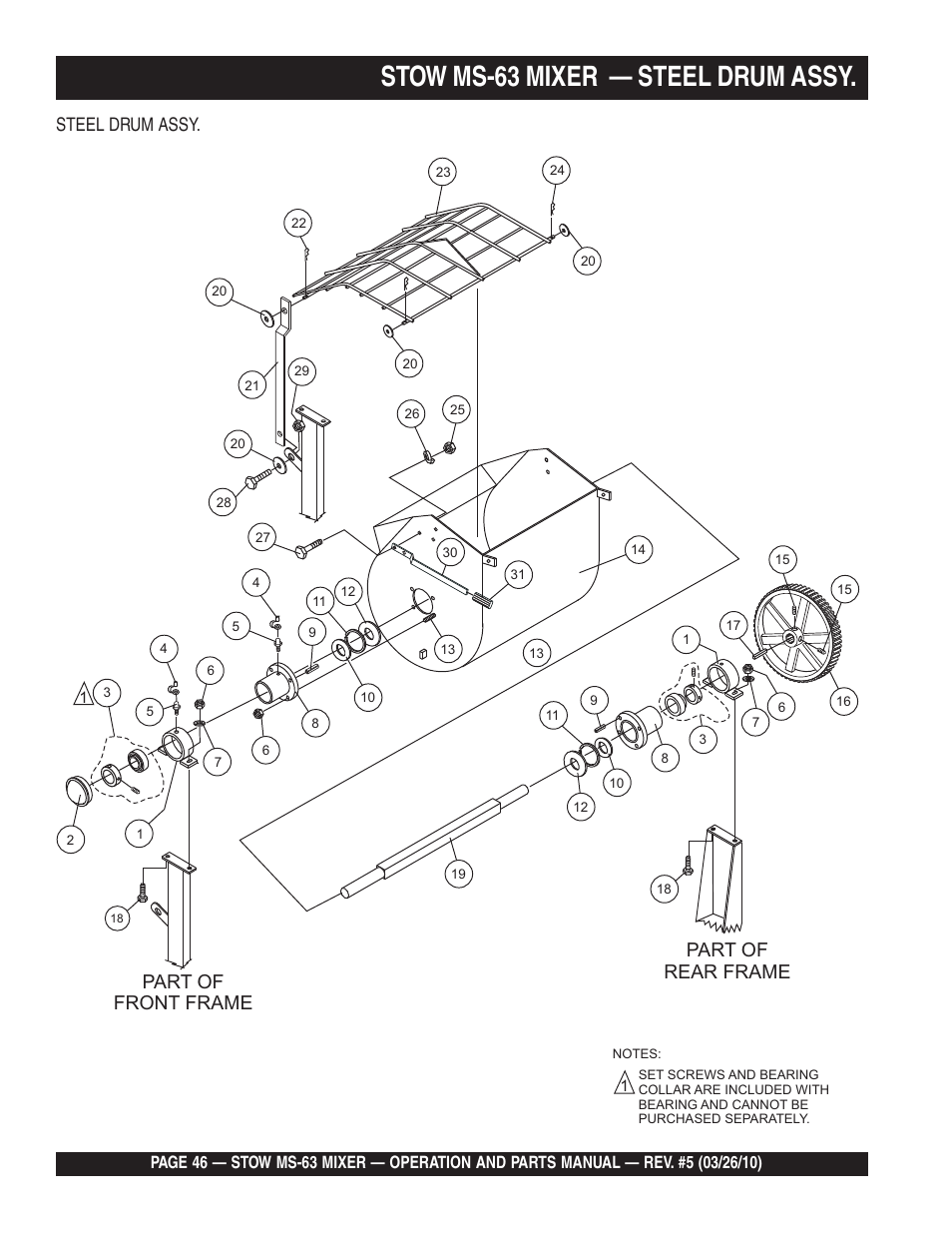 Stow Mixer Parts Diagram - DIY Wiring Diagrams •