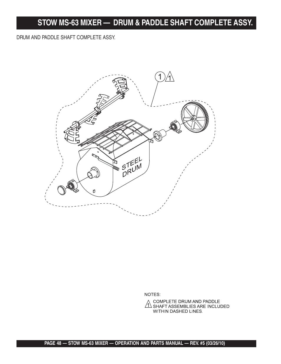 Stow Mixer Drum Parts Diagram - Car Wiring Diagrams Explained •