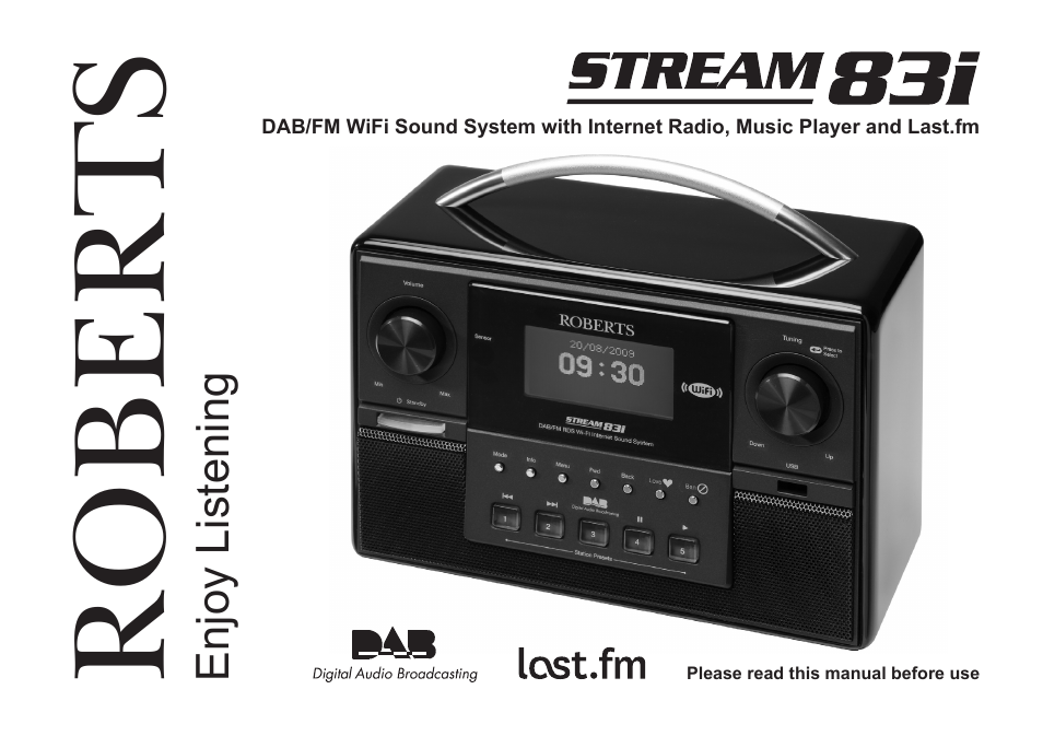 samsung stream 83i user manual 96 pages rh manualsdir com Online Radio Stream roberts stream 83i dab internet radio manual