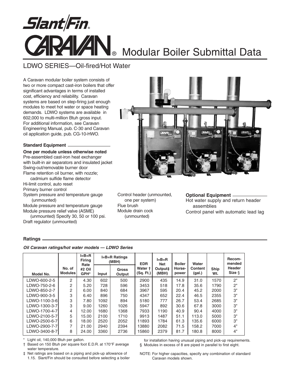 Slant Fin Ldwo Series User Manual 2 Pages Boiler Wiring Diagram