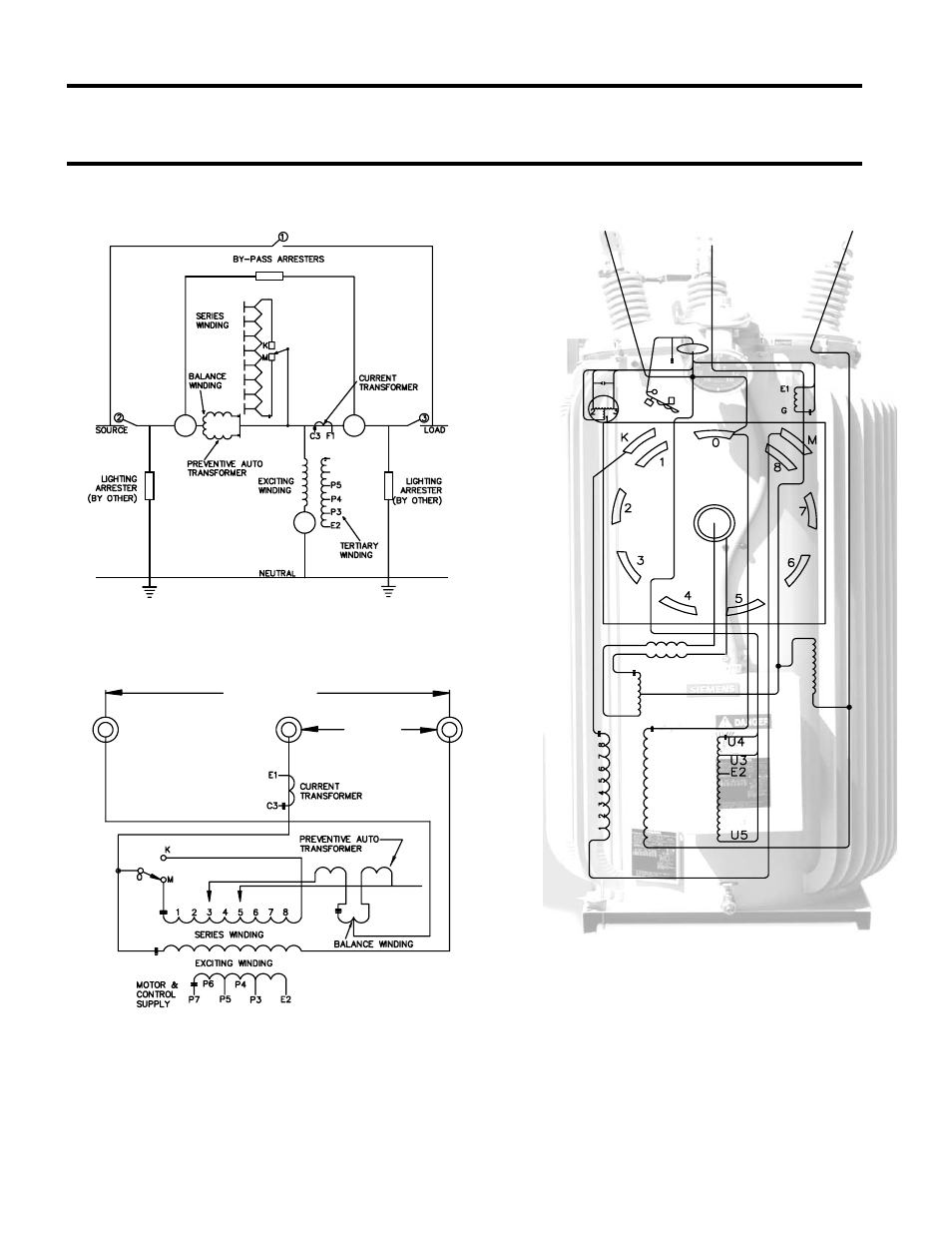 Connection Diagrams  Inverted Design  Ansi Type B