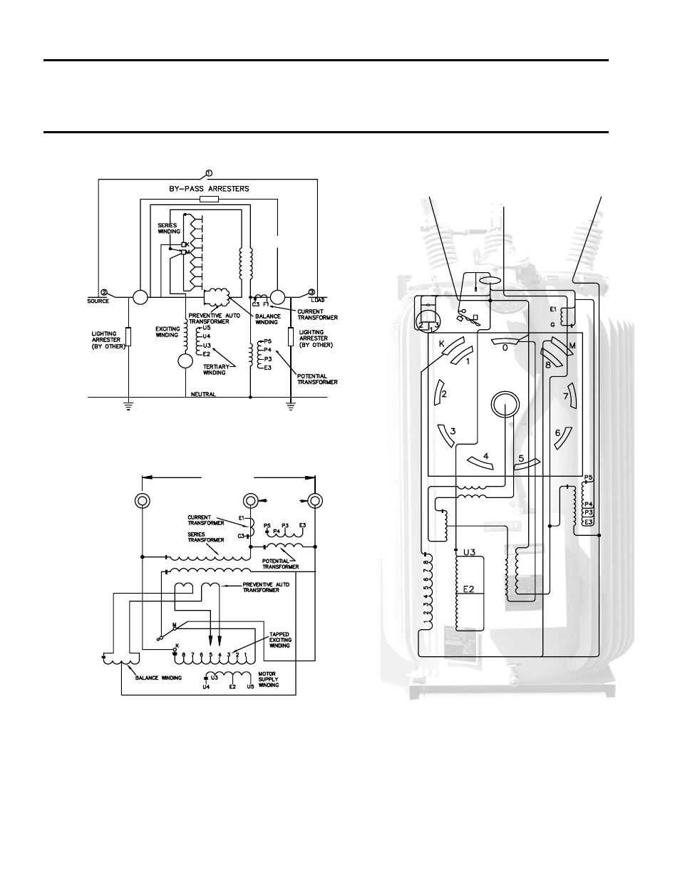 connection diagrams  series transformer design